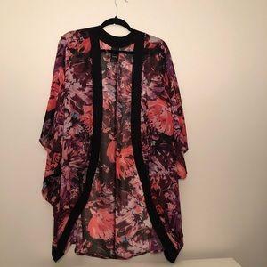 Catalina Plus Size Floral Kimono Size 3X